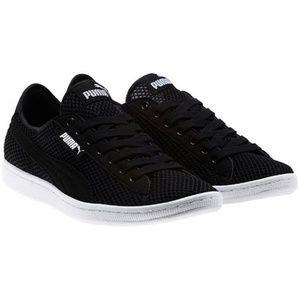 Women's PUMA Vikky Mesh FM Black Sneaker Shoes